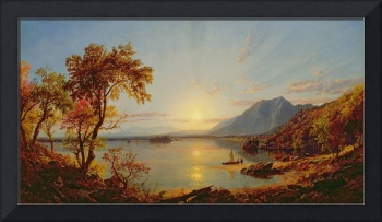 Sunset, Lake George, New York, 1867