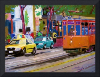 San Francisco Trolly Car