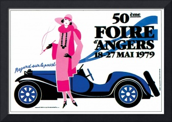 Vintage Classic Automotive Poster #73