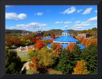 Coolidge Park in the fall