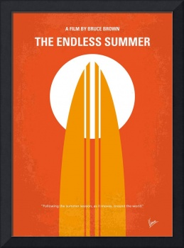 No274 My The Endless Summer minimal movie poster