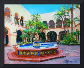 Courtyard Fountain San Diego California