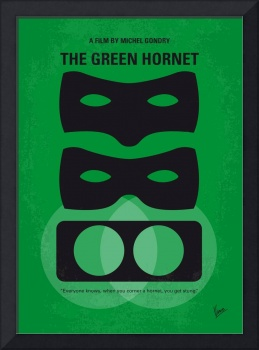 No561 My The Green Hornet minimal movie poster