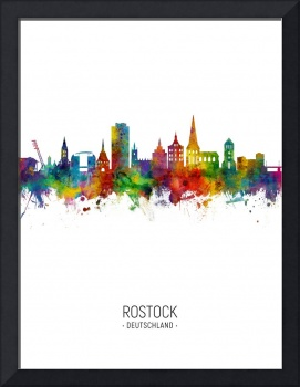Rostock Germany Skyline
