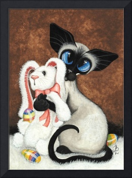 Easter Bunny Siamese Cat