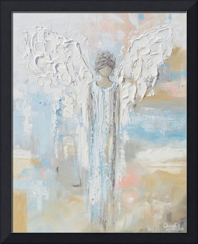 On An Angels' Wings