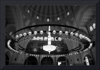 Bahrain Mosque Chandelier