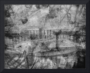 patio photograph drawing impressionist photograph
