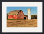 Red Barn and Silo by Rich Kaminsky
