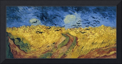 Vincent van Gogh's Wheatfield with Crows