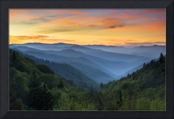Smoky Mountains Sunrise - Great Smoky Mountains Na