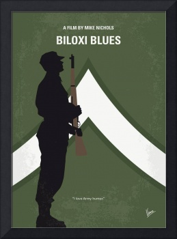 No1095 My Biloxi Blues minimal movie poster
