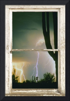 Moment In Time Rustic Barn Picture Window Frame Ar