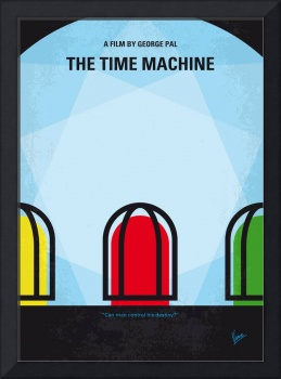 No489 My The Time Machine minimal movie poster