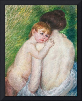 The Bare Back, 1906 (pastel on paper)