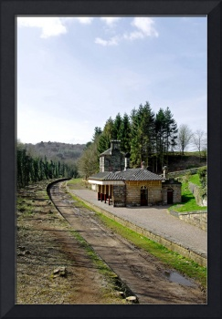 The Disused Alton Towers Railway Station (22638-R)