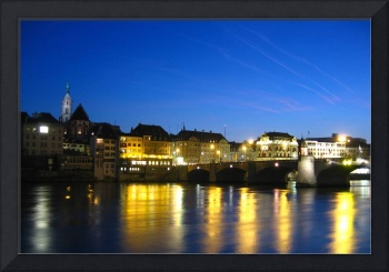 An evening in Basel