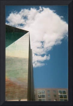 Building and Clouds by Karen Ivette Zaldana