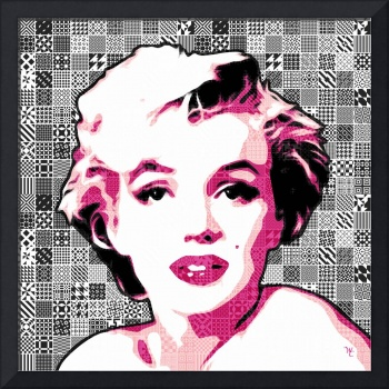 Marilyn Monroe - Pink Lady Too - Pop Art