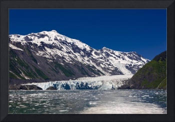 Surprise Glacier in Harriman Fjord seen from the d