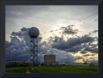 An evening at the National Weather Center