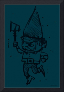 Gnome Jonathon - deep denim, not shadow