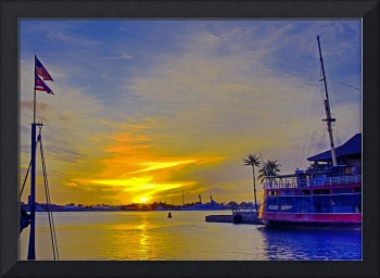 _Sunset@ Aloha Tower II