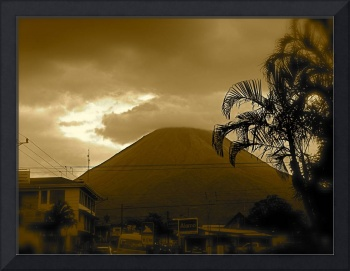Arenal Volcal  from La Fortuna