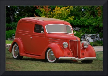 1936 Ford Delivery Sedan 1