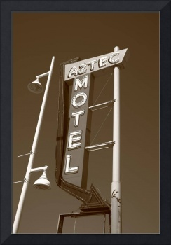 Route 66 - Aztec Motel