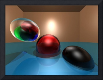 Room of Spheres 4