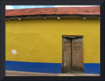 Red Yellow Blue Mexican Wall