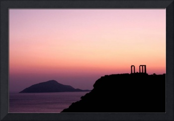 Sunset at Sounio II