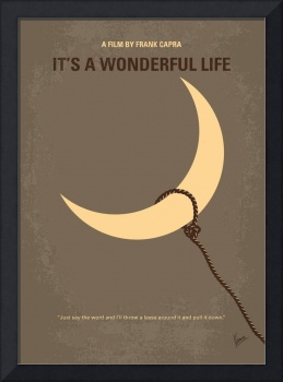 No700 My Its a Wonderful Life minimal movie poster