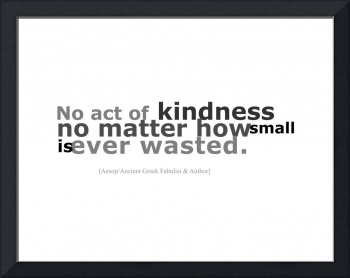 8x11 act of kindness on RB