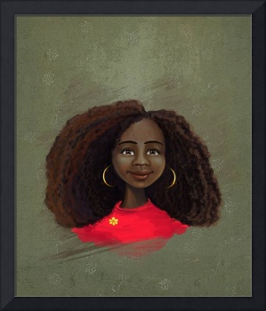 Black girl portrait