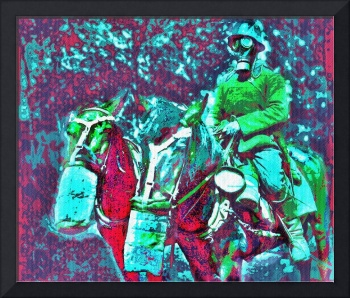 German Horse Soldier WWI