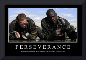 Perseverance: Inspirational Quote and Motivational