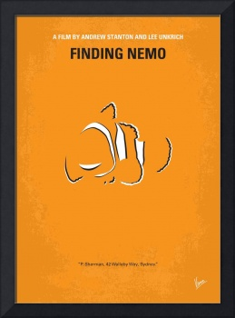 No054 My Nemo minimal movie poster