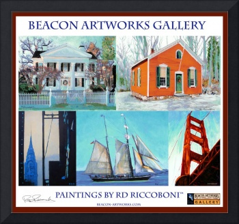 Riccoboni Art Poster from Beacon Artworks