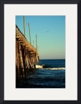 Rodanthe Fishing Pier 0452 by Jacque Alameddine