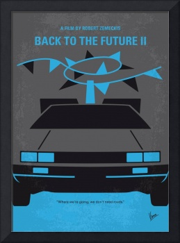No183 My Back to the Future movie poster-part 2