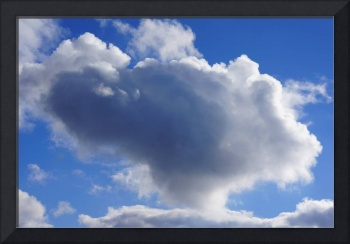 Blue Sky Puffy White Clouds Skies Art Prints Weath