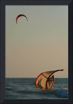 Kitesurfer Down Mandrem