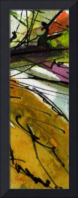 Modern Abstract Tallskinni #5 by Ginette