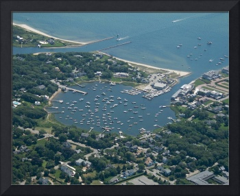 Whychmere Harbor Aerial Photo (Harwich, Cape Cod)