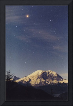 Mt. Rainier / Mars / Cloud