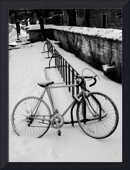 Bike after winter storm
