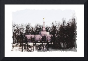 Palmyra Temple in the Snow
