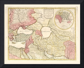 Map of the Middle East (1725)